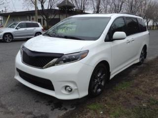 Used 2015 Toyota Sienna SE for sale in Drummondville, QC