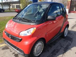 Used 2013 Smart fortwo Pure for sale in Drummondville, QC