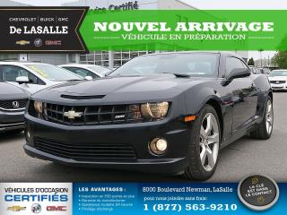 Used 2010 Chevrolet Camaro SS for sale in Lasalle, QC