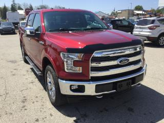 Used 2017 Ford F-150 Lariat | 4X4 | One Owner | Navigation for sale in Harriston, ON