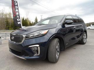 Used 2019 Kia Sorento SX V6 FULL LOADER AWD 1 PROPRIO JAMAIS A for sale in Val-David, QC