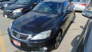 Used 2010 Lexus IS 250 CONVERTIBLE for sale in Burlington, ON