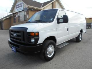 Used 2013 Ford E350 Extended Cargo 5.4L V8 Loaded Certified 189,000Km for sale in Etobicoke, ON