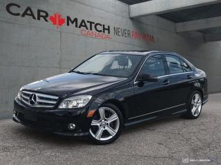 Used 2010 Mercedes-Benz C-Class C 300 / LEATHER / SUNROOF / NO ACCIDENTS for sale in Cambridge, ON