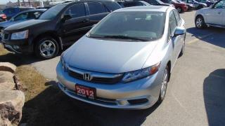 Used 2012 Honda Civic EX for sale in Burlington, ON