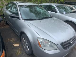 Used 2003 Nissan Altima SL/ AUTO/ LEATHER/ SUNROOF/ ALLOYS/ SAVE BIG! for sale in Scarborough, ON