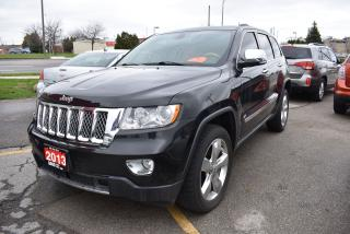 Used 2013 Jeep Grand Cherokee Overland for sale in Burlington, ON
