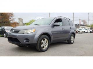 Used 2008 Mitsubishi Outlander Awd Ls 7-Pass for sale in St-Jérôme, QC