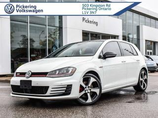 Used 2017 Volkswagen Golf GTI AUTOBAHN DSG!!! AUTO for sale in Pickering, ON