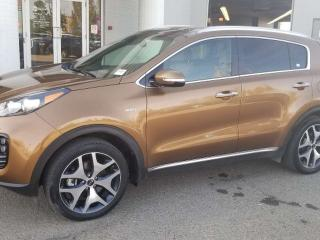 Used 2017 Kia Sportage SX; NAV, LEATHER, BACKUP CAM, HEATED/COOLING SEATS, SUNROOF AND MORE for sale in Edmonton, AB
