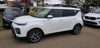 New 2020 Kia Soul EX PREM; ADVANCED SAFETY, NAV, BLUETOOTH, BACKUP CAM, SUNROOF AND MORE for sale in Edmonton, AB