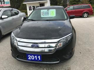 Used 2011 Ford Fusion SE for sale in Oro Medonte, ON