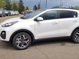 New 2020 Kia Sportage EX AWD; ADVANCED SAFTEY, BLUETOOTH, WIRELESS PHONE CHARGER, BACKUP CAM, HEATED SEATS AND MORE! for sale in Edmonton, AB