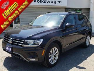 Used 2018 Volkswagen Tiguan Trendline 2.0 8sp at w/Tip 4M for sale in Walkerton, ON