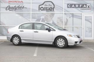 Used 2010 Honda Civic DX ***MECANIQUE A1*** for sale in Québec, QC