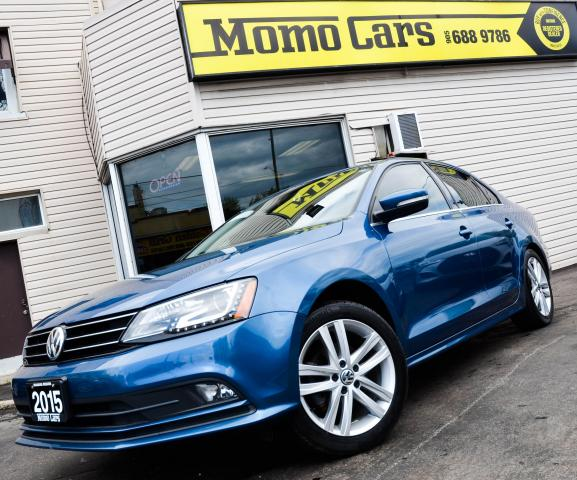 2015 Volkswagen Jetta HIGHLINE! Keyless Start! Only $154/bi-weekly!