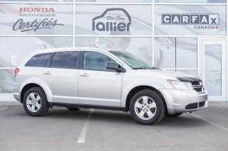Used 2013 Dodge Journey GROUPE VALEUR CANADA ***JAMAIS ACCIDENTE for sale in Québec, QC