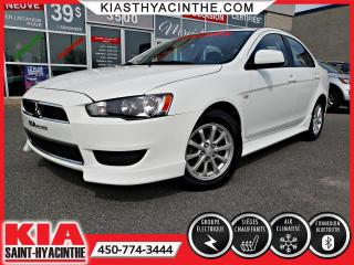 Used 2012 Mitsubishi Lancer SE ** SIÈGES CHAUFFANTS / MAGS for sale in St-Hyacinthe, QC