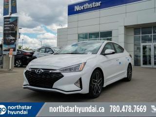 New 2019 Hyundai Elantra SPORT/LEATHER/SUNROOF/BACKUPCAM for sale in Edmonton, AB