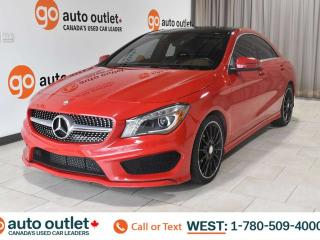 Used 2014 Mercedes-Benz CLA-Class AWD, 4MATIC, LEATHER SEATS, POWER WINDOWS & SEATS, MEMORY SEATS, STEERING WHEEL CONTROLS, CRUISE CONTROL, A/C, HEATED FRONT SEATS, AM/FM RADIO, BACKUP CAMERA, PANORAMIC ROOF for sale in Edmonton, AB