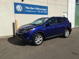 Used 2015 Toyota RAV4 LIMITED AWD - LEATHER / SUNROOF for sale in Edmonton, AB