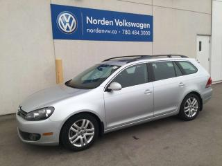 Used 2011 Volkswagen Golf Wagon 2.0 TDI HIGHLINE DSG! - LEATHER / SUNROOF for sale in Edmonton, AB