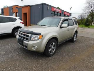 Used 2010 Ford Escape Limited|LEATHER|SUROOF|BLUETOOTH for sale in St. Thomas, ON