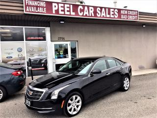 Used 2016 Cadillac ATS Luxury Collection|AWD|LEATHER|REAR-VIEW|SUNROOF for sale in Mississauga, ON
