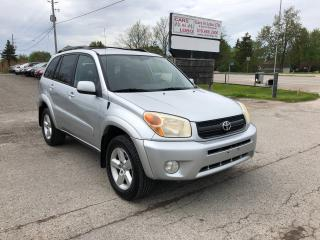 Used 2005 Toyota RAV4 Limited 4WD for sale in Komoka, ON