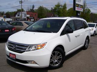 Used 2011 Honda Odyssey EX-L,NEW TIRES,CERTIFIED,8 PASSENGERS,SUNROOF,FOGS for sale in Kitchener, ON