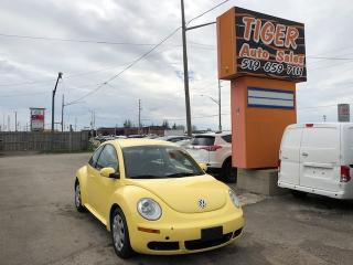 Used 2007 Volkswagen New Beetle ***LEATHER***LOADED**ONLY 175 KMS** CERTIFIED for sale in London, ON