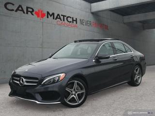 Used 2016 Mercedes-Benz C-Class C 300 / AMG  / PANO ROOF for sale in Cambridge, ON