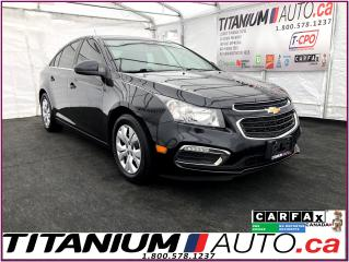 Used 2015 Chevrolet Cruze LT+Camera+Remote Start+BlueTooth+Mylink+ECO Turbo+ for sale in London, ON