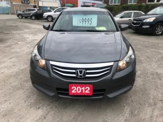 Used 2012 Honda Accord EX-L for sale in Hamilton, ON