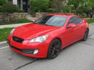 Used 2011 Hyundai Genesis Coupe 3.8l GT, PREMIUM, LEATHER, ROOF, NO ACCIDENTS for sale in Toronto, ON
