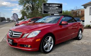 Used 2011 Mercedes-Benz E-Class E 350 CONVERTIBLE NO ACCIDENT for sale in Mississauga, ON