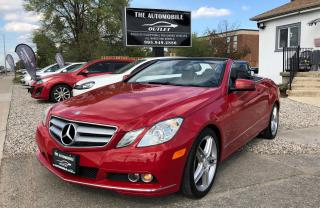 Used 2011 Mercedes-Benz E350 E-CLASS E350 CONVERTIBLE FULLY LOADED NO ACCIDENT for sale in Mississauga, ON