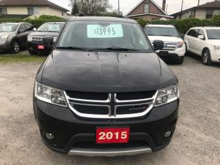 Used 2015 Dodge Journey R/T for sale in Hamilton, ON