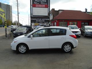 Used 2010 Nissan Versa 1.8 S/ LOW KM / MINT / NO ACCIDENT / CERTIFIED / for sale in Scarborough, ON