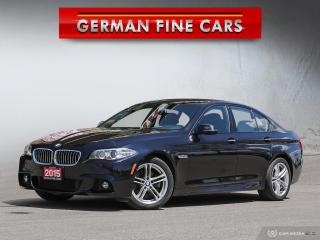 Used 2015 BMW 5 Series *** 2015 BMW 528I XDRIVE M SPORT PKG***NAVIGATION for sale in Bolton, ON