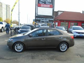 Used 2011 Kia Forte EX / NEW BRAKES / ALLOYS / CLEAN / CERTIFIED for sale in Scarborough, ON