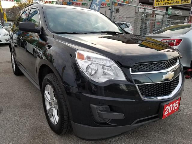2015 Chevrolet Equinox LT-Extra Clean-Bk Up Cam-Bluetooth-Alloys-AUX