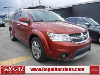Used 2012 Dodge Journey R/T 4D Utility 4WD for sale in Calgary, AB