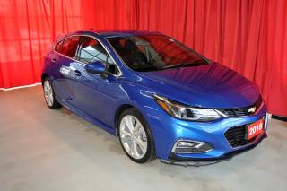 Used 2018 Chevrolet Cruze Hatchback | RS Package | Rear View Camera for sale in Listowel, ON
