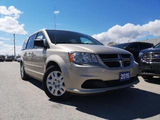 Used 2015 Dodge Grand Caravan Sxt 3.6l V6 Stow-n-go for sale in Midland, ON