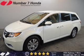 Used 2016 Honda Odyssey EX| Backup Cam, DVD, Bluetooth! for sale in Woodbridge, ON
