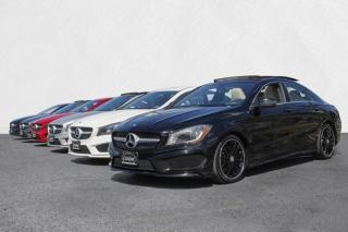 Used 2015 Mercedes-Benz CLA-Class CLA250 4MATIC AMG PKG-PANOROOF-BACKUP CAM-BLINDSPOT-NAVI for sale in North York, ON