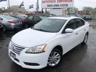 Used 2015 Nissan Sentra SV Luxury Navi/Sunroof/Htd Seats/Btooth/Cam for sale in Mississauga, ON