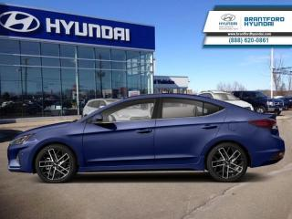 New 2019 Hyundai Elantra Sport AT  - Sunroof -  Leather Seats - $146.99 B/W for sale in Brantford, ON