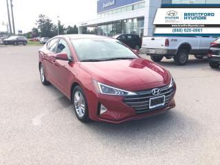 New 2020 Hyundai Elantra Preferred w/Sun & Safety Package IVT  - $135.64 B/W for sale in Brantford, ON